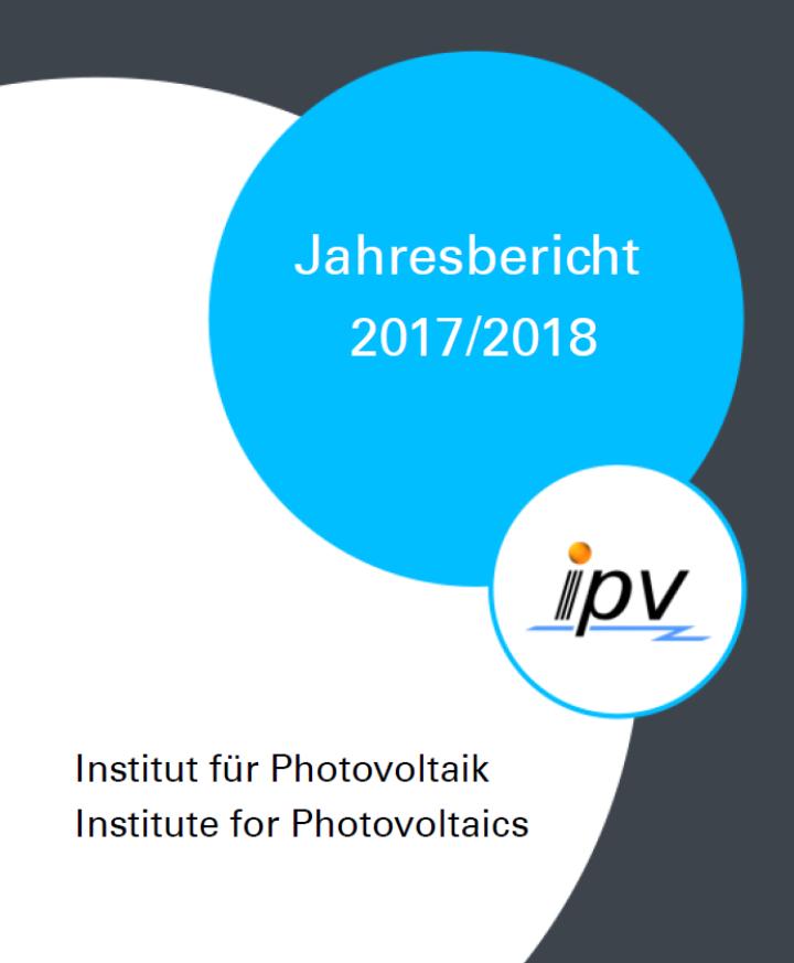Jahresbericht ipv 2017/18 Titelseite